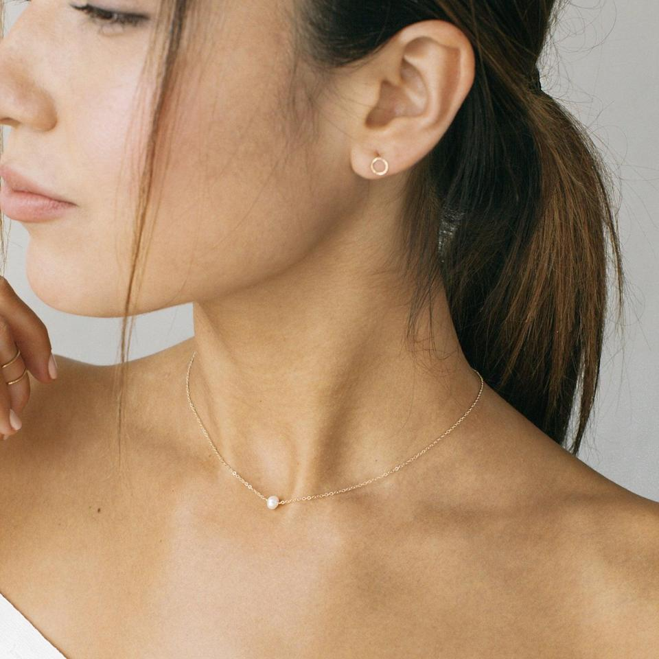 <p>This <span>Alba Pearl Necklace</span> ($28 and up) will make a dainty and minimal addition to your rotation.</p>