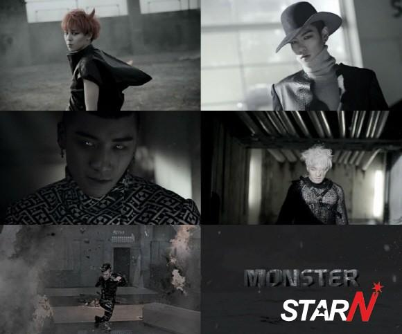 Over 3 million people viewed the mv of Big Bang's 'Monster'