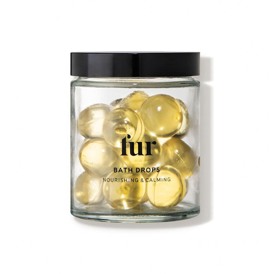"""Apparently dreams do come true, because the beloved bath beads you used in the '90s are back and better than ever, this time from chic bath and body brand, Fur, and filled with a blend of softening oils that will leave your skin nourished and silky smooth. $34, Fur. <a href=""""https://shop-links.co/1726726438525115912"""" rel=""""nofollow noopener"""" target=""""_blank"""" data-ylk=""""slk:Get it now!"""" class=""""link rapid-noclick-resp"""">Get it now!</a>"""