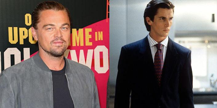 """<p>Leonardo DiCaprio was ~king of the world~ back in 2000: He had already starred in the award-winning <em>Titanic </em>and <em>What's Eating Gilbert Grape</em>, but he let the role in the cult classic <em>American Psycho</em> <a href=""""https://people.com/movies/american-psycho-how-leonardo-dicaprio-almost-played-christian-bale-patrick-bateman-role/"""" rel=""""nofollow noopener"""" target=""""_blank"""" data-ylk=""""slk:pass him by"""" class=""""link rapid-noclick-resp"""">pass him by</a>. </p>"""