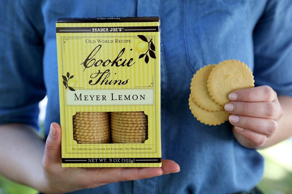 <p>TJ's lemon cookies are the perfect dessert to end your picnic with because they're so light and refreshing. </p> <p>Pro tip: Don't bring anything on your picnic that can melt. Dealing with a messy blanket after a relaxing picnic is never ideal.</p>