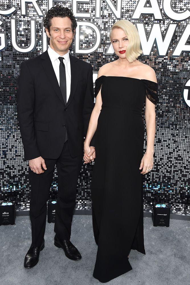 Thomas Kail and Michelle Williams | John Shearer/Getty