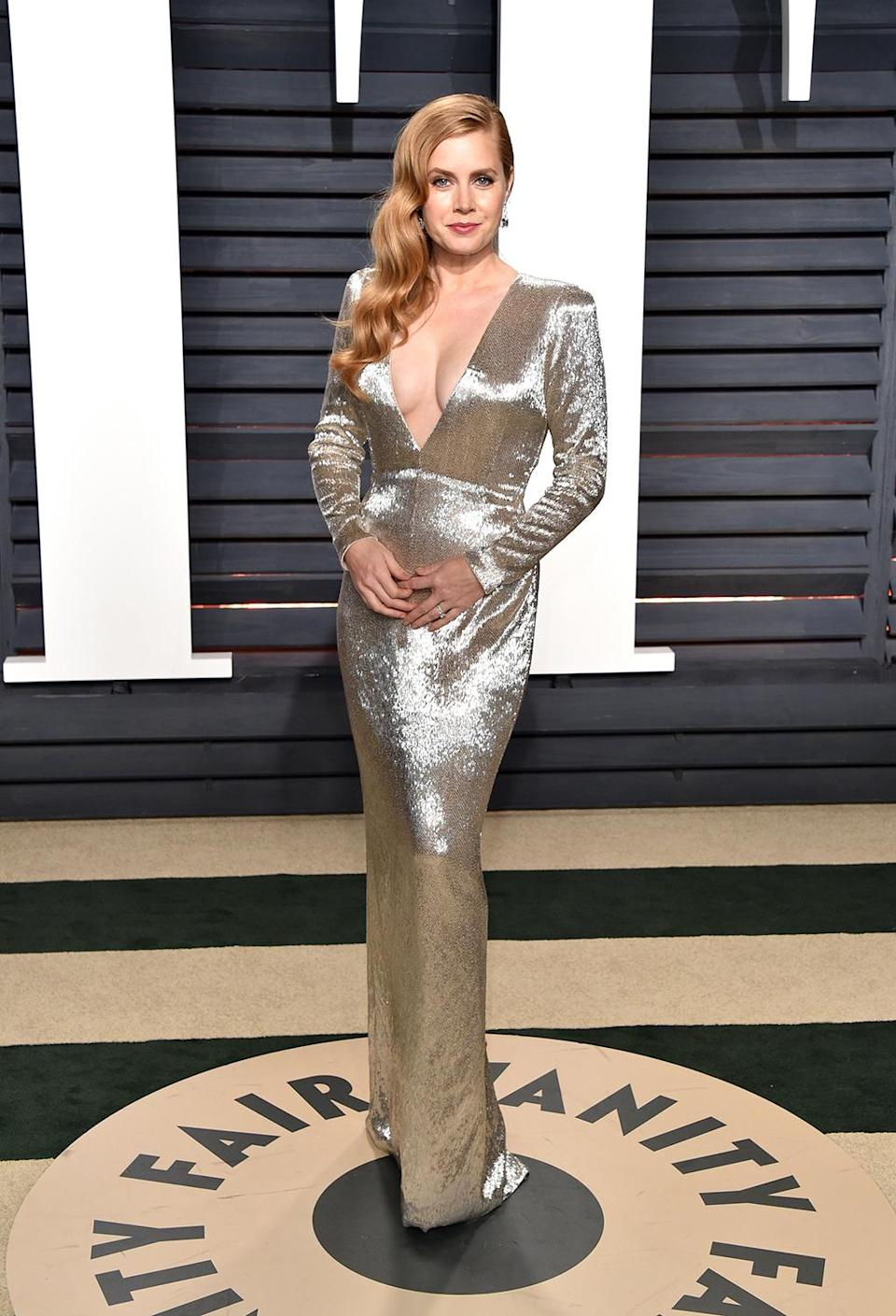 <p>Actress Amy Adams attends the 2017 Vanity Fair Oscar Party hosted by Graydon Carter at Wallis Annenberg Center for the Performing Arts on February 26, 2017 in Beverly Hills, California. (Photo by John Shearer/Getty Images) </p>