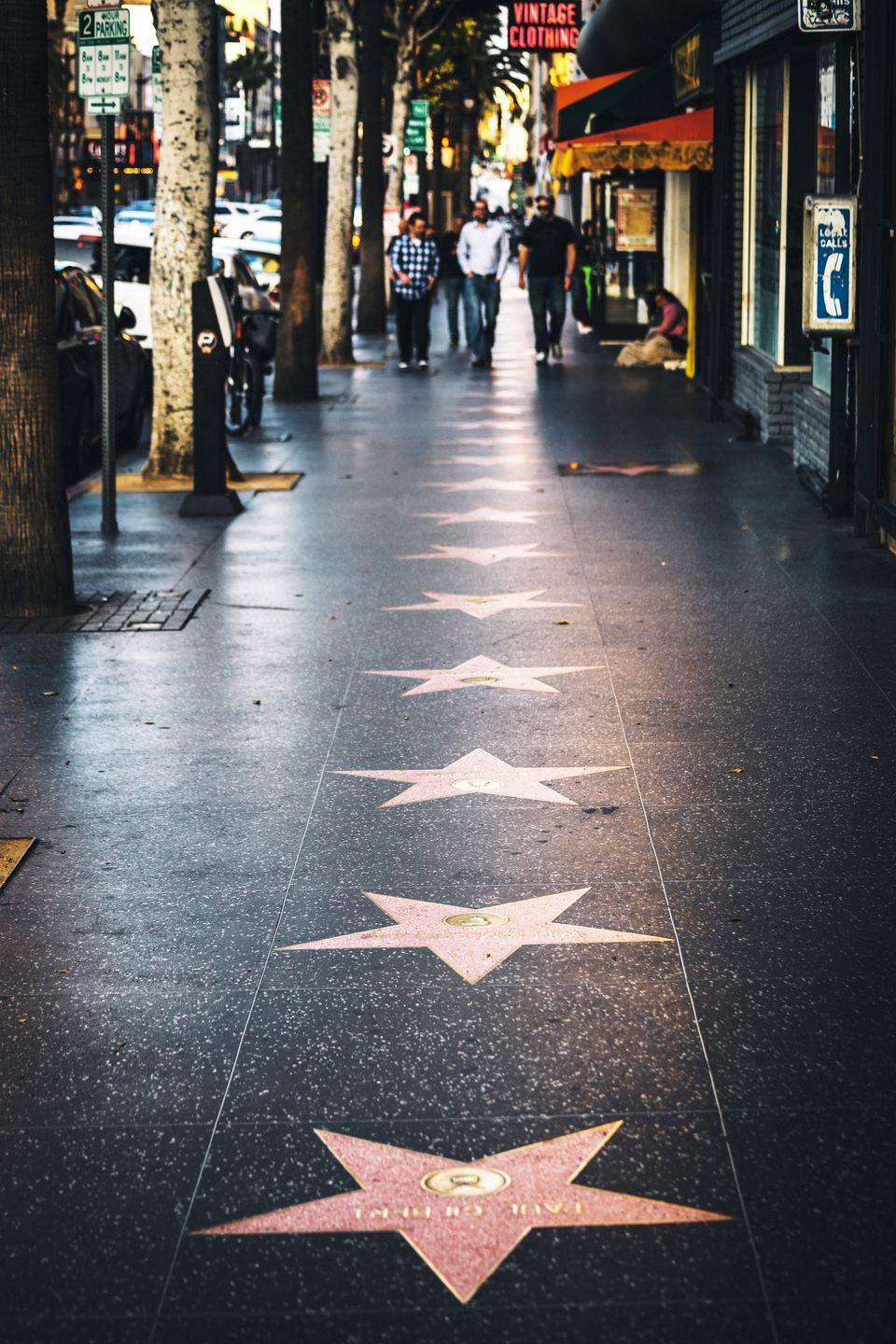 <p>Even though the Hollywood Walk of Fame began much earlier, it wasn't inducted as a Los Angeles Historical and Culture Moment until July 5, 1978. Today, there are over 2,400 names on the terrazzo sidewalk along Hollywood Boulevard. </p>