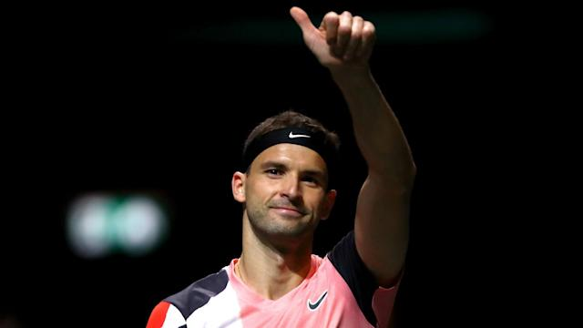 Denis Shapovalov's poor run continued on the opening day of the Rotterdam Open as Grigor Dimitrov beat him in straight sets.
