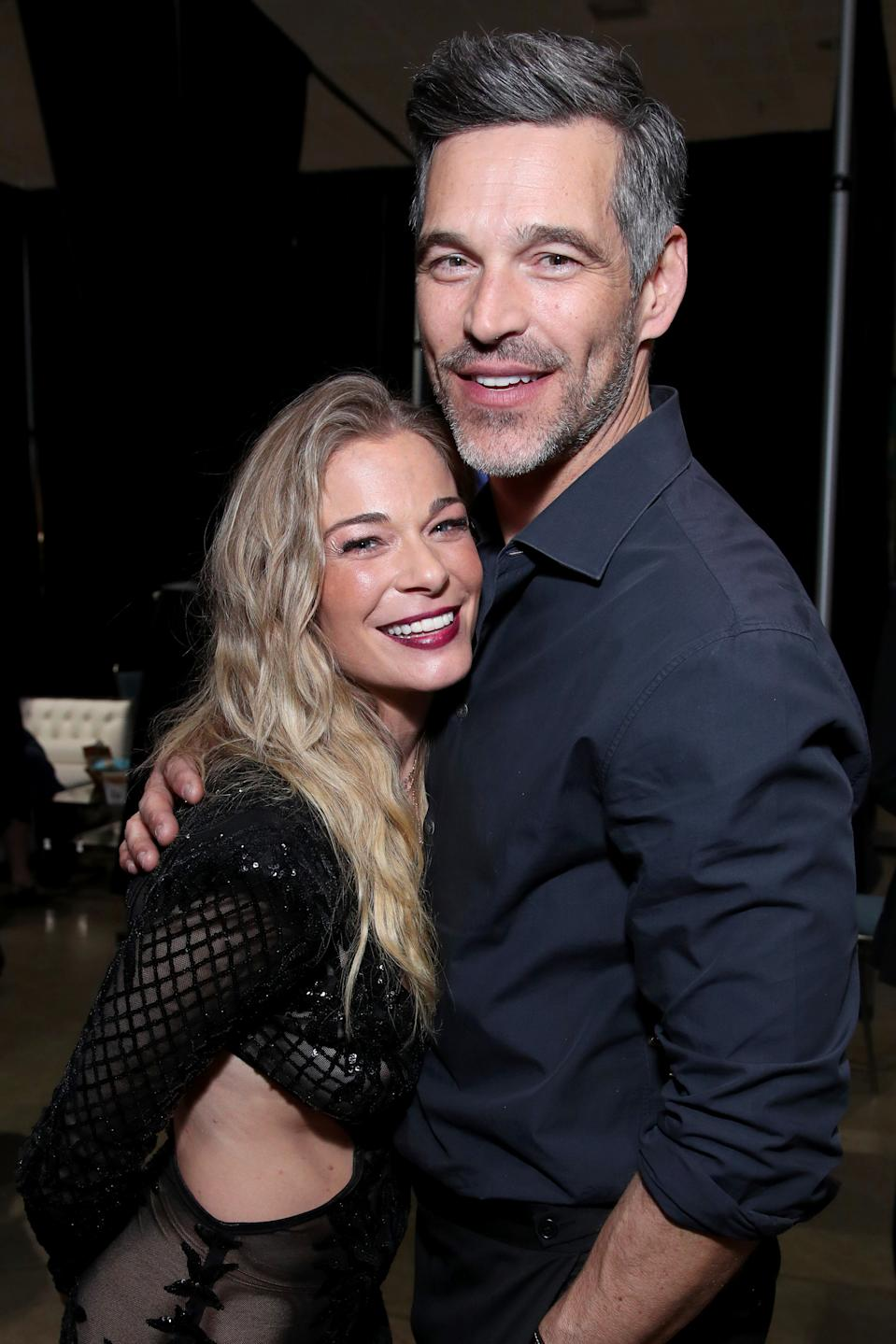 LeAnn Rimes and Eddie Cibrian in 2020. (Photo: Rich Fury/Getty Images for The Recording Academy)