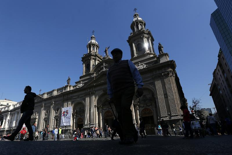 Chile's Catholic Church,whose Metropolitan Cathedral in Santiago is pictured, set up a board in 2011 to investigate sex abuse but allegations of misconduct have continued