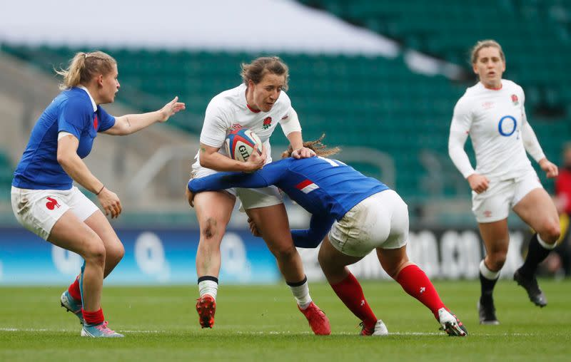 Women's International - England v France