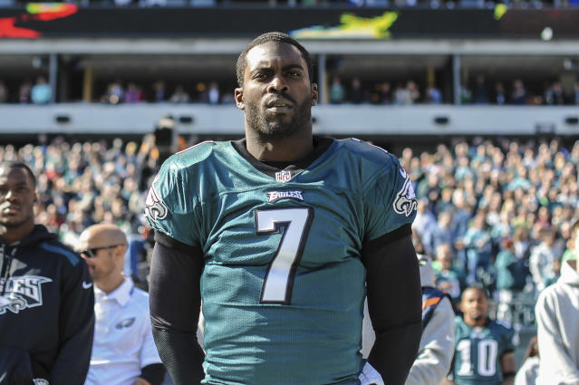 Jets quarterback Michael Vick will wear No.8 for the first time in his NFL career