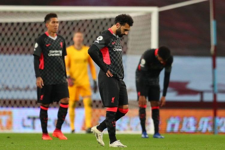 Liverpool's press was ruthlessly exposed by Aston VillaPOOL/AFP via Getty Images