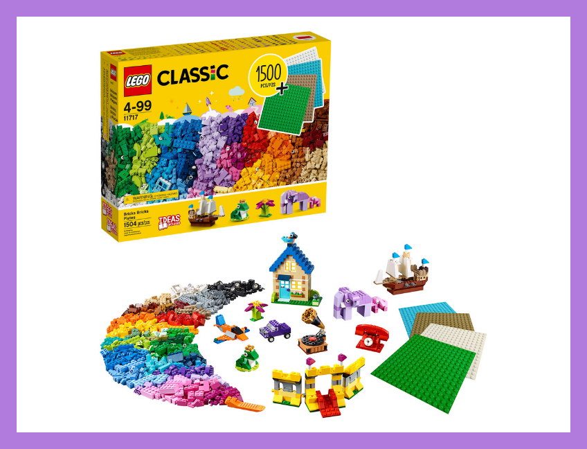 LEGO Classic Bricks and Plates. (Photo: Walmart)