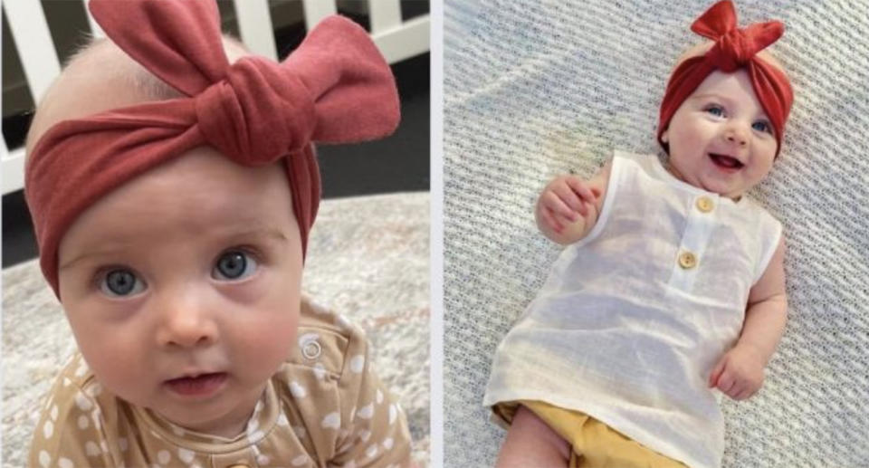 A five-month-old girl died in a horrific swooping incident. Source: GoFundMe