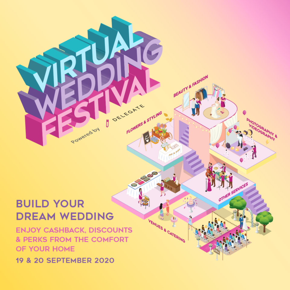 Delegate Virtual Wedding Festival. (PHOTO: Delegate)