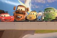 "<p>In this <em>Cars</em> sequel, there's a lot of focus on Lightning McQueen's buddy Mater, who is sent on a spy mission. Your mileage my vary depending on how entertaining you think Mater is, but a little Mater goes a long way.</p><p><a class=""link rapid-noclick-resp"" href=""https://go.redirectingat.com?id=74968X1596630&url=https%3A%2F%2Fwww.disneyplus.com%2Fmovies%2Fcars-2%2F1Evb1neuySt0&sref=https%3A%2F%2Fwww.redbookmag.com%2Flife%2Fg35149732%2Fbest-pixar-movies%2F"" rel=""nofollow noopener"" target=""_blank"" data-ylk=""slk:DISNEY+"">DISNEY+</a> <a class=""link rapid-noclick-resp"" href=""https://www.amazon.com/Cars-2-Owen-Wilson/dp/B005SAP45I?tag=syn-yahoo-20&ascsubtag=%5Bartid%7C10063.g.35149732%5Bsrc%7Cyahoo-us"" rel=""nofollow noopener"" target=""_blank"" data-ylk=""slk:AMAZON"">AMAZON</a></p>"
