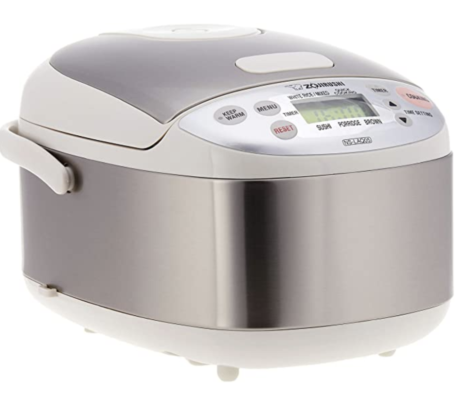 Zojirushi rice cooker. (PHOTO: Amazon)