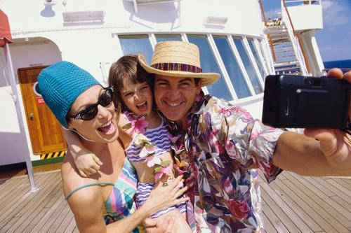 a cruise is great for families
