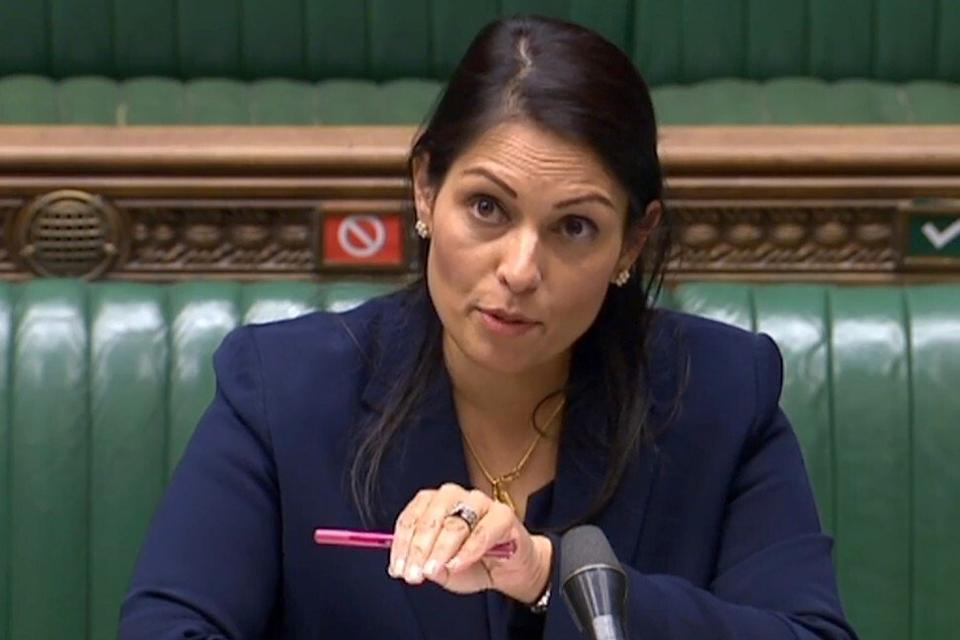 Home Secretary Priti Patel revealed more details of the British government's immigration offer to Hongkongers this week. Photo: AFP