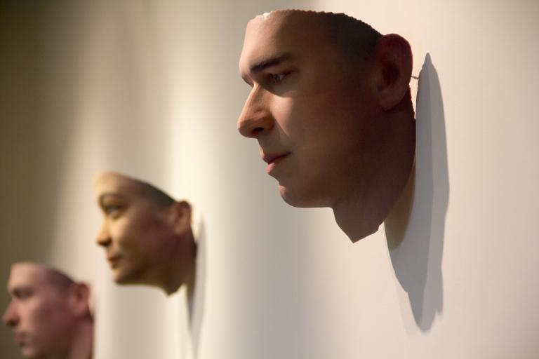 3D printed portraits made with DNA from cigarette butts to feature in new Wellcome Collection display