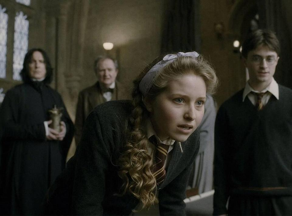 Jessie Cave, Harry Potter, Harry Potter and the Half Blood Prince