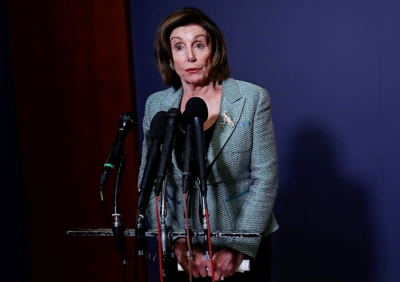 'We are the last to leave': Pelosi resists closing Congress amid coronavirus crisis