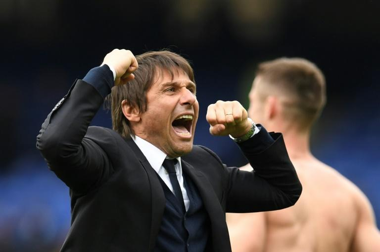 Chelsea coach Antonio Conte is renowned for his touchline antics