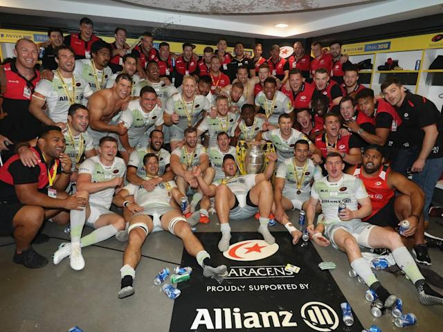 Alex Goode revels in Saracens silencing their doubters as he hails Mako Vunipola following Premiership final win