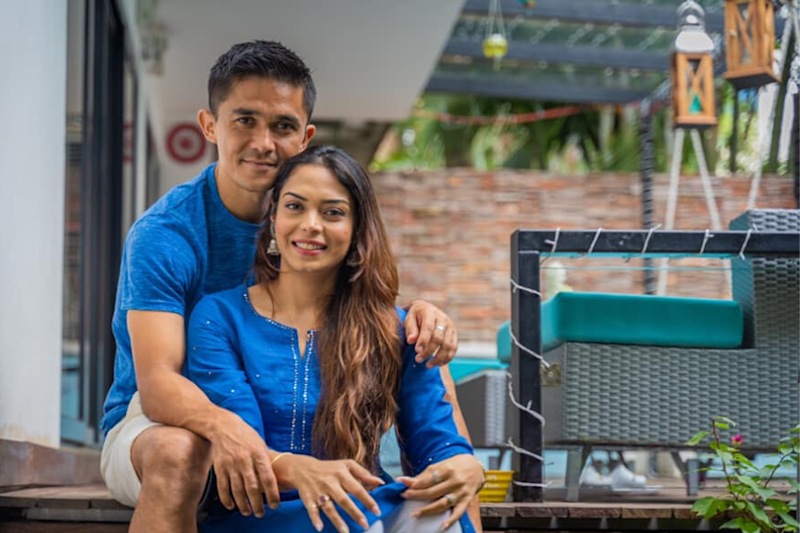 Sunil Chhetri's Secret Love Story With His Coach's Daughter Sonam Will Make Your Hearts Melt