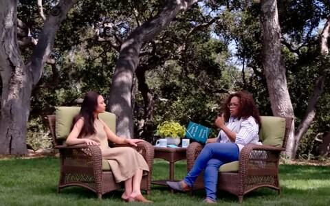 Chanel speaking with Oprah Winfrey  - Credit: OWN/Super Soul Sunday