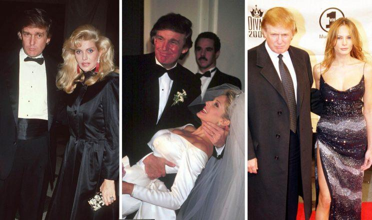 Donald trump marriages