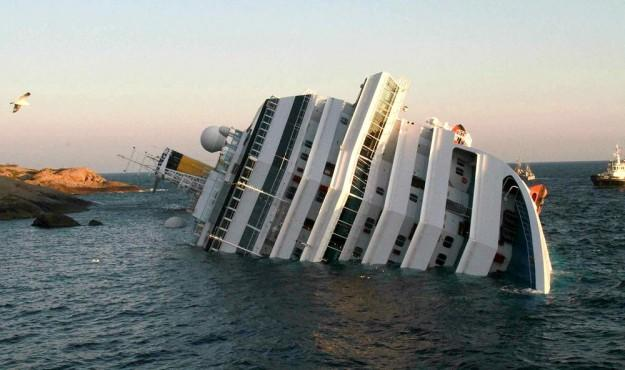Dancer saved from capsized cruise liner after Facebook plea