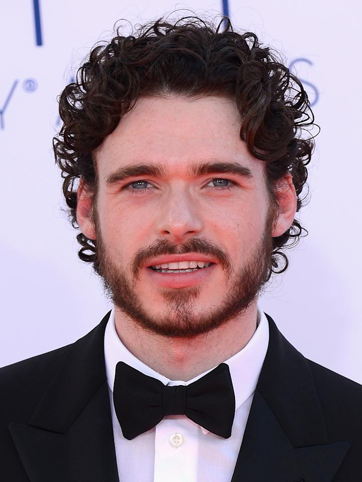 LOS ANGELES, CA - SEPTEMBER 23: Actor Kit Harington arrives at the 64th Annual Primetime Emmy Awards at Nokia Theatre L.A. Live on September 23, 2012 in Los Angeles, California. (Photo by Kevork Djansezian/Getty Images)