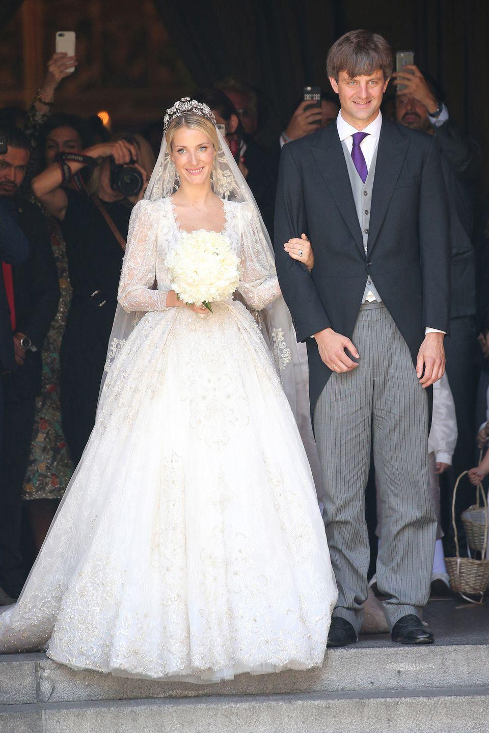 <p>This couple met at a party in London in 2011, and the Prince proposed to Malysheva, a Russian fashion designer, on the Greek island of Spetses in 2016. The couple wed in Germany in July 2017.</p>
