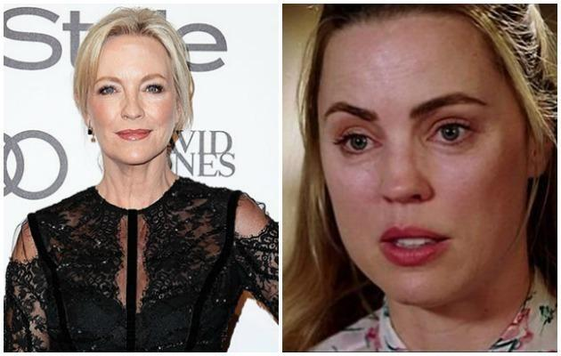 She defended fellow actress Melissa George. Photo: Getty/Seven