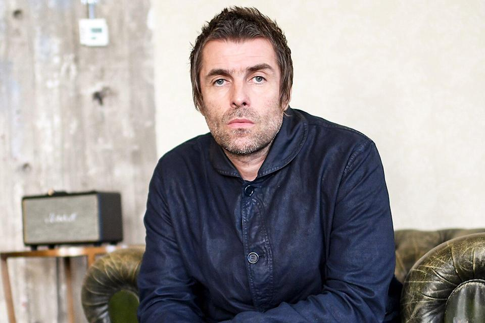 Liam Gallagher during a dpa interview on July 23, 2019.