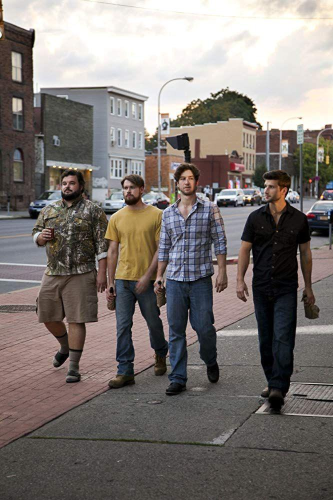 """<p>In this uplifting comedy, a young mechanic comes out to his stereotypically straight, blue-collar buddies. But far from shunning him, they decide to try and help him find the perfect partner. It's a fun twist on rom-com themes that will give you hope for broader LGBTQ acceptance.</p><p><a class=""""link rapid-noclick-resp"""" href=""""https://www.amazon.com/4th-Man-Out-Kate-Flannery/dp/B01BCU13OS?tag=syn-yahoo-20&ascsubtag=%5Bartid%7C10055.g.27886652%5Bsrc%7Cyahoo-us"""" rel=""""nofollow noopener"""" target=""""_blank"""" data-ylk=""""slk:STREAM NOW"""">STREAM NOW</a></p>"""