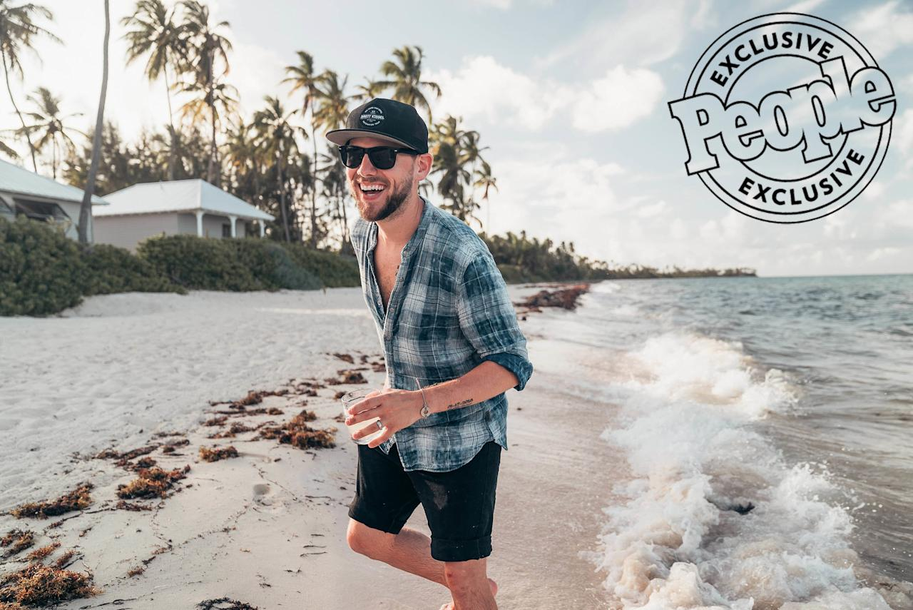 """""""The concept for our video, 'Drink About Me' is all about reminiscing,"""" said Brett Kissel. """"I wanted to display some of the best memories that a couple has ever had in their lives and how you can be transported back to those memories when you're having a drink."""""""