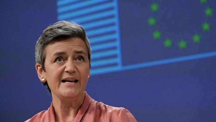 The EU's Margrethe Vestager says the appeal will go before the European Court of Justice