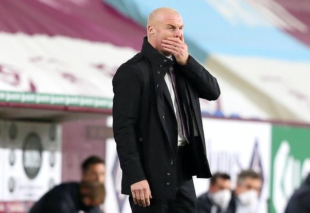 Burnley manager Sean Dyche was left frustrated by the club's transfer business