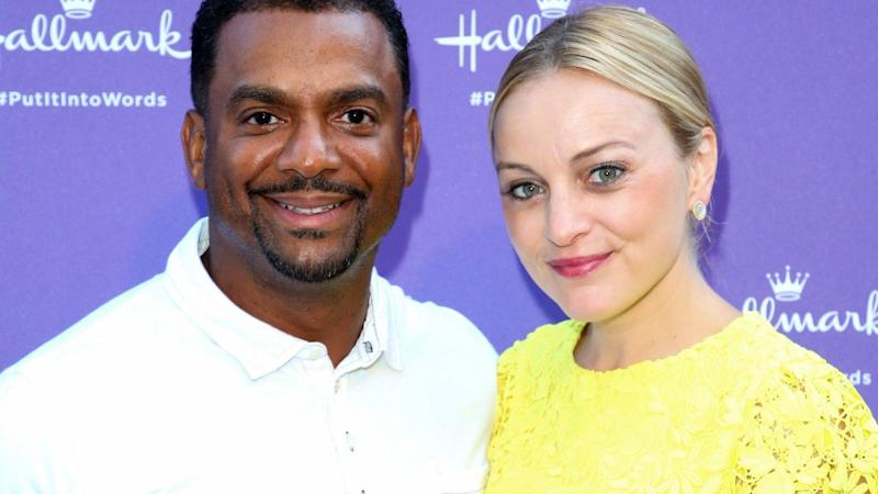 Alfonso Ribeiro announces wife's pregnancy on Instagram with ADORABLE snap