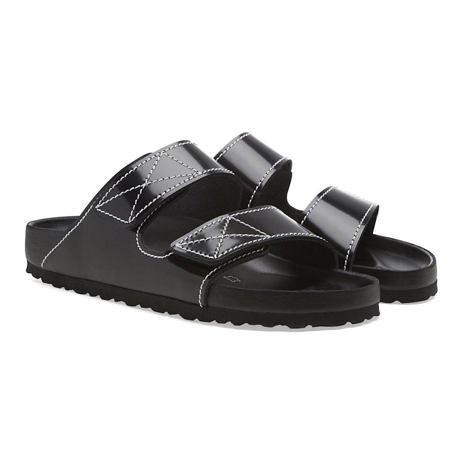 """<p><strong>Proenza Schouler</strong></p><p>birkenstock.com</p><p><strong>$420.00</strong></p><p><a href=""""https://go.redirectingat.com?id=74968X1596630&url=https%3A%2F%2Fwww.birkenstock.com%2Fus%2Farizona-proenza-schouler%2Farizonaps-proenzaschouler-naturalleather-0-eva-u.html%3Fdwvar_arizonaps-proenzaschouler-naturalleather-0-eva-u_color%3D1&sref=https%3A%2F%2Fwww.marieclaire.com%2Ffashion%2Fg32185174%2Fugly-shoes%2F"""" rel=""""nofollow noopener"""" target=""""_blank"""" data-ylk=""""slk:Shop Now"""" class=""""link rapid-noclick-resp"""">Shop Now</a></p><p>The stoners who listened to Phish in high school grew up and now are wearing these (please note the price!).</p>"""
