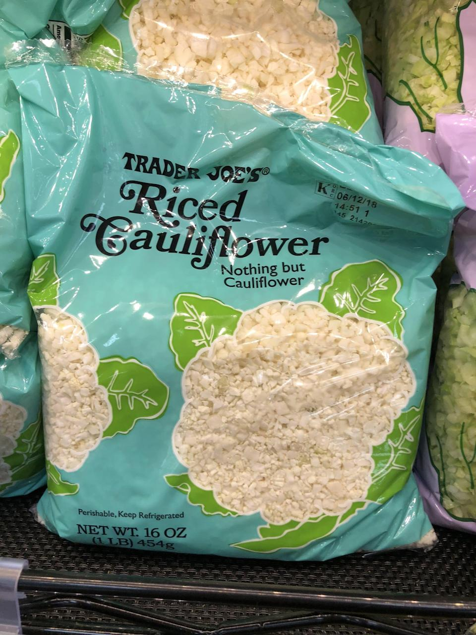 <p>Found in the fridge section, just cook up a couple bags to use as rice in your lunch meal prep. </p>