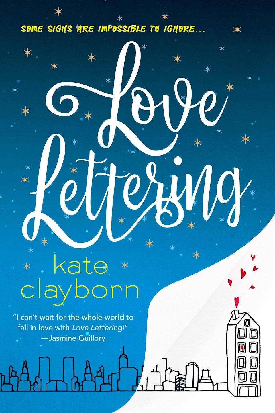 "<p>Intricate hand lettering and signage typography take center stage in <span><strong>Love Lettering</strong> by Kate Clayborn</span> ($9). In the story, Meg Mackworth is a professional hand letterer who customizes everything from <a class=""link rapid-noclick-resp"" href=""https://www.popsugar.co.uk/Wedding"" rel=""nofollow noopener"" target=""_blank"" data-ylk=""slk:wedding"">wedding</a> programs to daily planners for her clients. When a past client, Reid Sutherland, questions her about hiding a message in his wedding program, Meg expects a confrontation - what she doesn't expect is an unlikely friendship.</p> <p>Kate Clayborn has such a fun and imaginative way with storytelling, and knows how to make even the smallest of facial expressions come alive on the page. The love story between Meg and Reid is swoon-worthy, charming, and very unique. Design-minded folks will enjoy how typography is woven into every aspect of this story, from how Meg sees the world around her to the ways she connects with Reid.</p>"