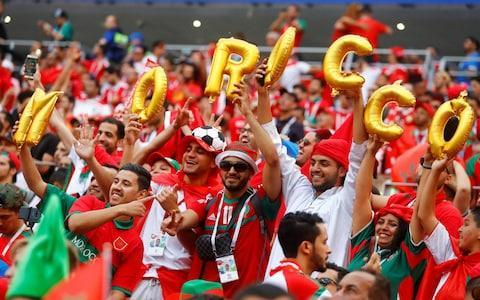 "1:44PM 44 mins - Portugal 1 Morocco 0 More smart play by those Moroccan men on the right side. First time, the ball is hacked clear. Second time, the ball is chested back to Patricio to bring an end to the attack. ""Guerreiro is making Amrabat look world class,"" says Martin Keown. 1:42PM 42 mins - Portugal 1 Morocco 0 Guedes probably should have done better with that chance. He had a lot of goal to aim at, but stuck it far too close to Mohamedi. 1:40PM 40 mins - Portugal 1 Morocco 0 A big chance for Portugal to double their lead! It's come from nothing as Morocco switch off slightly and allow Guedes to latch onto a little Ronaldo dink over the top. The Portugal frontman hits the ball on the run and Mohamedi palms away, moving to his left. Benatia is then booked for a foul on Ronaldo soon after. 1:38PM 38 mins - Portugal 1 Morocco 0 A lovely overlap sees Hakimi drive high up the pitch for Morocco, but Boutaib cannot keep hold of the ball inside the Portugal penalty area. Back they come again though and Portugal twice have to hoof the ball clear. 1:36PM 36 mins - Portugal 1 Morocco 0 A few fouls coming in from both sides in the middle of the park. Still no yellow cards been shown. Portugal vs Morocco shots on goal 1:32PM 32 mins - Portugal 1 Morocco 0 ... Ronaldo marks out his run-up, pulls up his shorts, puffs his cheeks... and then whacks the ball into the Morocco wall. 1:31PM 31 mins - Portugal 1 Morocco 0 Morocco are again appealing for a penalty as Fonte crashes into Boutaib inside the penalty area, but the referee isn't interested. Portugal then go straight down the other end and win a free-kick 20 yards out from goal. Step up you know who... 1:30PM 30 mins - Portugal 1 Morocco 0 Ronaldo has barely got a look for the past 15mins or so. His side just cannot retain possession. Morocco fans at Luzhniki respond to Ronaldo's complaints by singing 'Messi, Messi'. An old one but a good one— Sam Wallace (@SamWallaceTel) June 20, 2018 1:28PM 28 mins - Portugal 1 Morocco 0 Amrabat, playing on the right wing today (he played right-back against Iran) is tearing Guerreiro to pieces every time he gets the ball. He just about wriggles clear of the Portugal left-back, ventures into the Portugal penalty area and then tumbles over as Guerreiro fights back to apply some pressure. It looked as though both players were clinging on to their opposite man and Morocco's penalty appeals are waved away. Correct. No need for VAR to intervene. 1:25PM 25 mins - Portugal 1 Morocco 0 A bit of an ouchy for Ronaldo prompts the Portugal star to roll around in howls, while clutching his ankle (which was caught by Benatia). A foul is given, but no card shown, and Ronaldo's recovery is swift - almost like it didn't hurt that much in the first place. 1:23PM 23 mins - Portugal 1 Morocco 0 Ziyech, who has been making quite a name for himself at Ajax this season, is causing plenty of problems and this time tries his luck from range. Nothing too troubling for Patricio, but Ziyech is an attacking player of some talent. 1:22PM 22 mins - Portugal 1 Morocco 0 Portugal are really struggling to retain possession. Morocco are pressing so high in the opposition half and Portugal are frequently pushed further and further back. Bar the goal, you have to be impressed with how the Moroccans have played so far. 1:19PM 19 mins - Portugal 1 Morocco 0 Morocco are continuing to cause all sorts of problems. Amrabat and Dirar link up smartly down the right (where all the problems are coming from), before the Morocco right-back pulls the ball back dangerously into the penalty area, but the shot under pressure flies over the bar. 1:17PM 17 mins - Portugal 1 Morocco 0 BREAKING NEWS: Amrabat has just flung his skull cap towards the bench in disgust, revealing his gloriously shaved bonce. 1:16PM 16 mins - Portugal 1 Morocco 0 This game is very open in these early stages. Neither side is sitting back on the ball, which is making for plenty of action. Morocco are a goal behind but not playing poorly at all. They are pressing with vigour. 1:14PM 14 mins - Portugal 1 Morocco 0 The Moroccans are pushing hard at the moment, forcing Portugal deep inside their own half and winning another corner. It is only half-cleared before being delivered again for Da Costa to head well wide. 1:13PM 13 mins - Portugal 1 Morocco 0 A couple of nice Ronaldo stats: 85 - Cristiano Ronaldo has now scored more international goals than any other European player in the history of football (85 goals for Portugal). Historic. #POR#MAR#PORMAR#Ronaldo#WorldCuppic.twitter.com/I3wsEJTGlQ— OptaJoe (@OptaJoe) June 20, 2018 2 - Cristiano Ronaldo has become the first Portugal player since José Torres in 1966 to score a goal with his right foot, left foot and head in a single World Cup tournament. Collection. #POR#MAR#PORMAR#Ronaldo#WorldCuppic.twitter.com/liZrUSyXmq— OptaJoe (@OptaJoe) June 20, 2018 1:12PM 11 mins - Portugal 1 Morocco 0 Credit to Morocco, they haven't responded too badly to going behind and Amrabat is causing problems against an ageing (actually, very much aged) Portugal defence down the right. The north African side win a corner, which finds Da Costa unmarked in the middle of the box and his header is held on the line by Patricio diving low to his right. 1:10PM 9 mins - Portugal 1 Morocco 0 Here comes Ronaldo again. Guerreiro is allowed far, far too much space to bring the ball deep inside Morocco's half. Inside it comes to Ronaldo, who attempts to let fly from the edge of the penalty area but scuffs his shot wide of the post. He's in the mood. 1:07PM 6 mins - Portugal 1 Morocco 0 That was such poor marking and Ronaldo is just too good for that. Morocco's World Cup 2018 future is dangling by a thread. 1:05PM GOOOOOOOOOOOAAAAAAAL And you don't even need me to tell you who scored it. The corner is whipped to the edge of the six-yard box where Ronaldo is woefully marked. The Real Madrid man flings himself powerfully at the ball and bullets a header past Mohamedi in goal to put Portugal ahead. Portugal 1 - 0 Morocco (Cristiano Ronaldo, 4 min) 1:04PM 2 mins - Portugal 0 Morocco 0 Now it is Portugal's turn to venture upfield through Bernardo Silva on the right. He wins a first corner that ends with Guerreiro seeing a shot deflected over for a second corner... 1:02PM 2 mins - Portugal 0 Morocco 0 An early foray forward sees the skull-capped Amrabat deliver a cross from the right. Portugal cannot release the pressure and the ball is worked back into the penalty area from the left where Boutaib meets it and heads over the bar. A lively start from the Moroccans. 1:00PM Kick-off Morocco in red get this match underway. Portugal are in white. Morocco must win to keep their hopes of progressing alive. 12:55PM Game time The teams are out and the anthems are being sung. Almost ready. 12:48PM Bang to the head It had been assumed that Amrabat would not feature for Morocco today after he was forced off during the match with Iran when he bashed his head against the floor and suffered a concussion. However, he has been selected and is wearing a Petr Cech-style skull cap in the warm-up. Unsurprisingly, his inclusion in the starting XI has prompted some raised eyebrows. Nordin Amrabat starts. ����#MOR team doctor - Abderrazak Hifti: ""I asked him five questions and he could only answer one, I saw clear symptoms of cerebral concussion."" FIFA concussion protocol. Return to competitive play - 6 days ���� pic.twitter.com/m4xi5Coore— Ben Dinnery (@BenDinnery) June 20, 2018 12:45PM Sun shining on the Luzhniki Credit: reuters Credit: reuters 12:36PM Mismatch? JJ Bull has watched every minute of every match so far at this World Cup, and is thus perfectly placed to tell you who is good and who is rubbish. He has produced a handy guide to all 32 teams, ranking them from worst to best after their opening encounters in Russia. READ IT BY CLICKING HERE. The teams involved in this match are ranked second... and 25th. 12:24PM I see some changes Just the one change from the Portugal side that drew 3-3 with Spain: Joao Mario comes in for Bruno Fernandes on the left wing. Morocco have tinkered a bit more after their shock defeat against Iran, making three changes to the side that started that game. Nabil Dirar and Manuel Da Costa come in, which sees Watford's Nordin Amrabat shifted further forward into a midfield role. Khalid Boutaib replaces Ayoub El Kaabi up top. 12:10PM Here are your teams The teams are in for #PORMAR! #WorldCuppic.twitter.com/73Cx1XolJV— FIFA World Cup �� (@FIFAWorldCup) June 20, 2018 12:05PM The main man Let's focus a little more on the undoubted star of today's show: CR7. I don't know what you're talking about guys, I think the Ronaldo statue looks pretty good pic.twitter.com/JIUwQBuqUY— keewa (@keewa) March 29, 2017 Dashing, isn't he? His hat-trick against Spain was phenomenal and broke or matched a number of records: He joined Uwe Seeler, Pele and Miroslav Klose as only the fourth player to score in four separate World Cup tournaments. He became the first player in history to score in eight consecutive major tournaments (World Cup, European Championships, Copa America). At 33 years and 130 days, he became the oldest hat-trick scorer in World Cup history. At an age when most players are considered either past it or on the decline, Ronaldo has shown no signs of slowing. Consider this: 2006, 2010, 2014 World Cups = 70 shots, 3 goals. 2018 World Cup = 4 shots, 3 goals. Stop him if you can. 11:35AM Ronaldo vs Morocco The meticulously marked out run-up, the ludicrous power pose, the rolled up shorts to expose those bulging thighs, the puff of the cheeks and the fiery stare. Everything about Cristiano Ronaldo's 89th-minute hat-trick goal against Spain last Friday was pure theatre. And wasn't it brilliant? A man who - love him or loathe him - lives for the biggest moments. A man who makes it All. About. Him. And then - THEN - he goes and delivers. If anyone thought Portugal were a one-man team at this World Cup, last Friday's match only reinforced such an opinion. Their 3-3 draw against Spain showcased two things about Portugal's team: Ronaldo's total brilliance and the rest of team's (including your Bernardo Silvas, your Joao Moutinhos etc) bang averageness. That draw means Portugal have emerged from their toughest match of Group B with a point and today they face a Morocco side who were stunned by Iran in their opener. The Moroccans would have come to this World Cup knowing the scale of the task facing them in a group containing Spain and Portugal. The plan: do Iran over and then see if you can get a result against one of the big boys. So much for that. The north African side dominated for much of their opening match, but paid the price for their profligacy in front of goal. Just as it looked like Iran would cling on for an admirable goalless draw, Morocco substitute Aziz Bouhaddouz stuck the ball in his own net in the 95th minute to gift the most unlikely of victories. That has left Morocco in a whole heap of bother. Herve Renard knows his side now cannot afford to lose either of their remaining two games against the two heavyweights of the group. These two sides have met once before at a World Cup and it was Morocco who came out on top in a 3-1 win. That was Portugal's only defeat against African opposition at any World Cup and the bookies have Ronaldo and chums as fairly heavy favourites to triumph today."