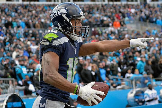 Human vanishing act, Tyler Lockett, should finally reappear for fantasy purposes this week. (Getty)