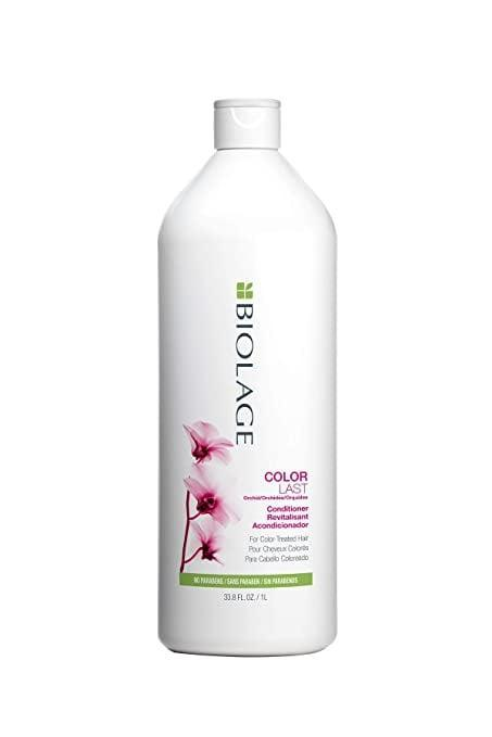 <p>If you have color-treated hair, the <span>Biolage Colorlast Conditioner</span> ($35) will help make your color last longer.</p>