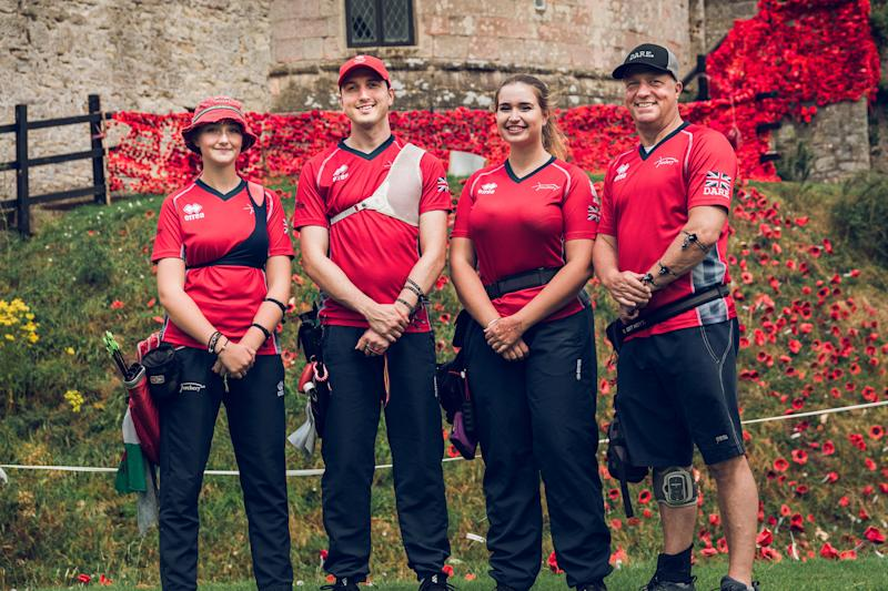 Britain's archers will be among those competing at Caldicot Castle