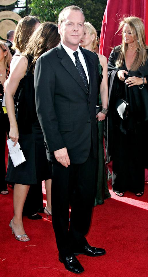 Kiefer Sutherland at The 57th Annual Primetime Emmy Awards.