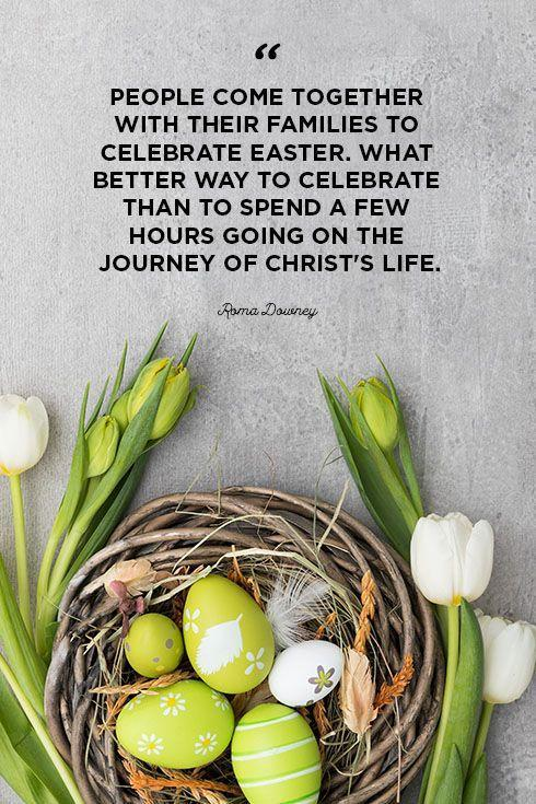 """<p>""""People come together with their families to celebrate Easter. What better way to celebrate than to spend a few hours going on the journey of Christ's life.""""</p>"""