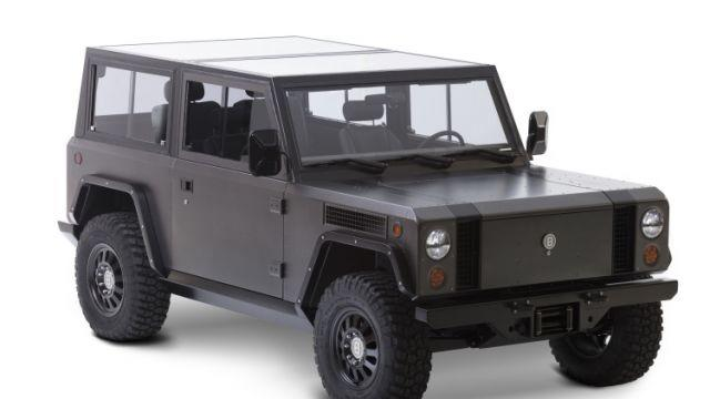 Bollinger reveals world's first all-electric sports utility truck