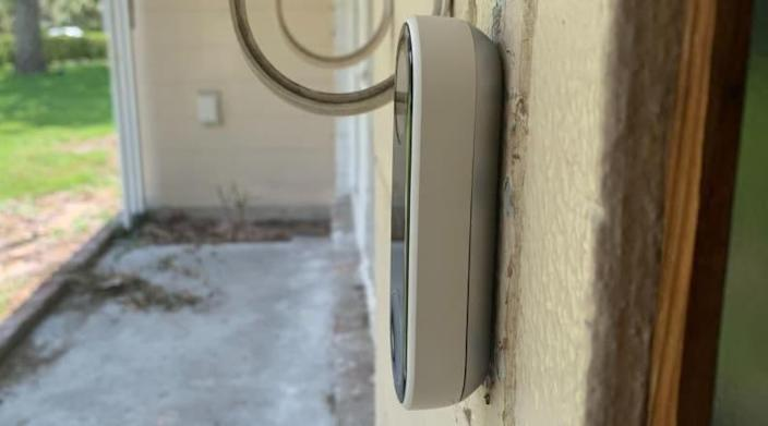 The Nest Hello doorbell camera is a sleek and safe addition to every home.